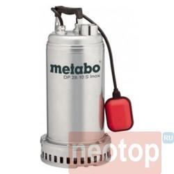 Погружной дренажный насос Metabo DP 28-10 S Inox 604112000